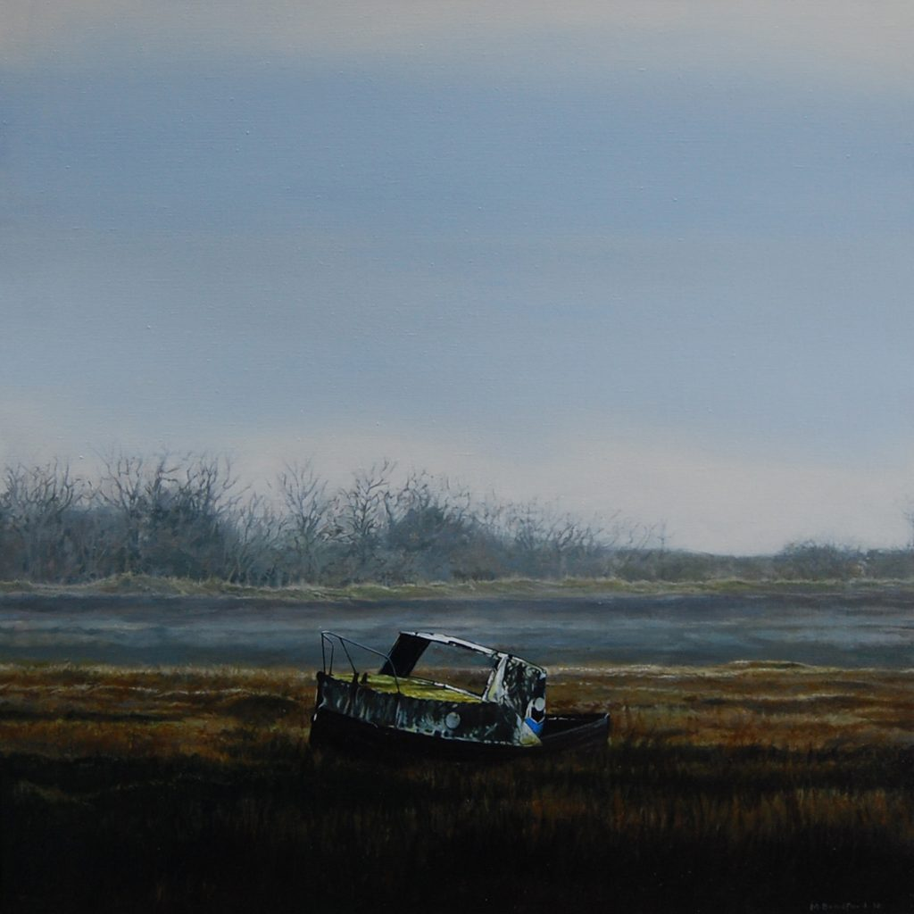 Abandoned 2 Oil on Linen 85cm sq