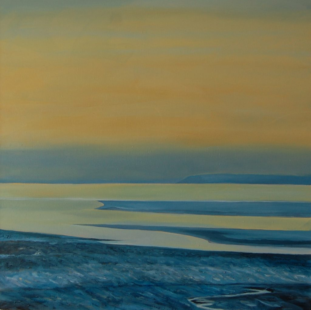 Morning flood tide 80cm sq